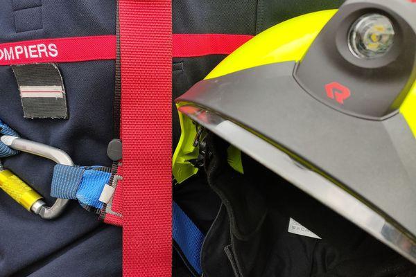 Illustration d'équipements de sapeur-pompier