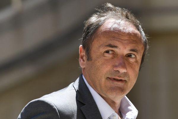 Ludovic Le Moan est le patron de la société toulousaine, Sigfox
