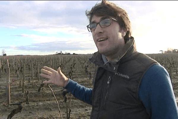 Pierre-Olivier Clouet, originaire de Lisieux, a été recruté à l'âge de 28 ans pour veiller sur le prestigieux Cheval Blanc