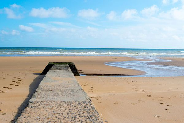Omaha beach, l'une des cinq plages du Débarquement