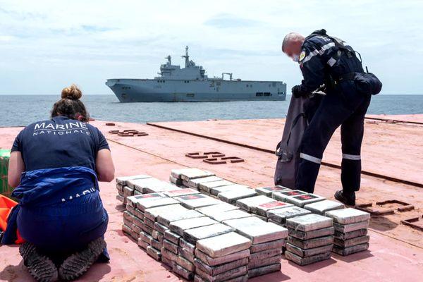 A bord du Najlan, 6 tonnes de cocaïne.