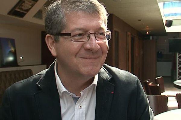 Le président de l'USAP François Rivière a accordé une interview à France 3 Languedoc-Roussillon - 16 avril 2016