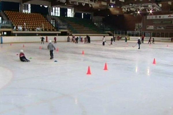 La patinoire de l'Illberg à Mulhouse.