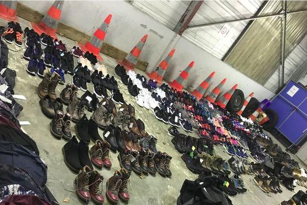 Plus de 150 paires de chaussures neuves volées à Saint-Junien samedi 15 décembre.