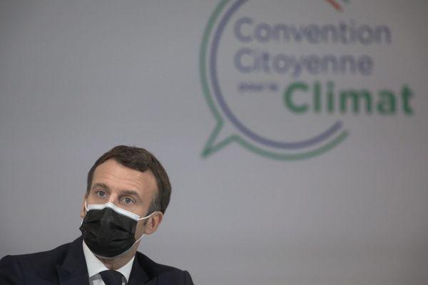 Lundi 14 décembre, Emmanuel Macron a répondu aux questions des 150 membres de la Convention citoyenne pour le Climat