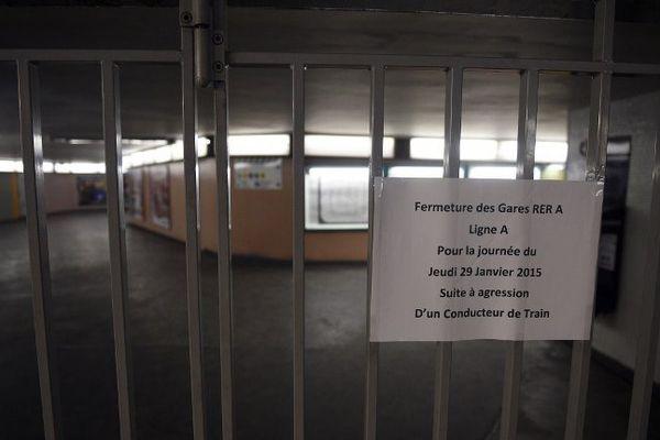 Le trafic a été totalement interrompu sur la Ligne A du RER, suite à l'agression d'un conducteur à Torcy.