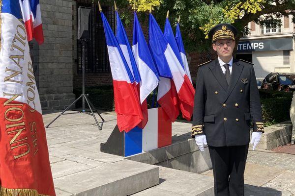 Investiture du nouveau préfet de la région Hauts-de-France et du Nord