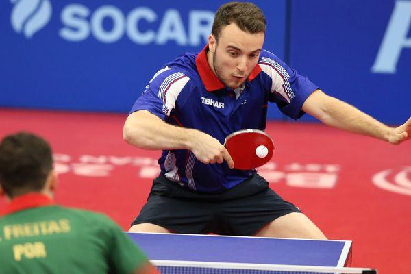 Somon Gauzy en finale des Jeux Européens.