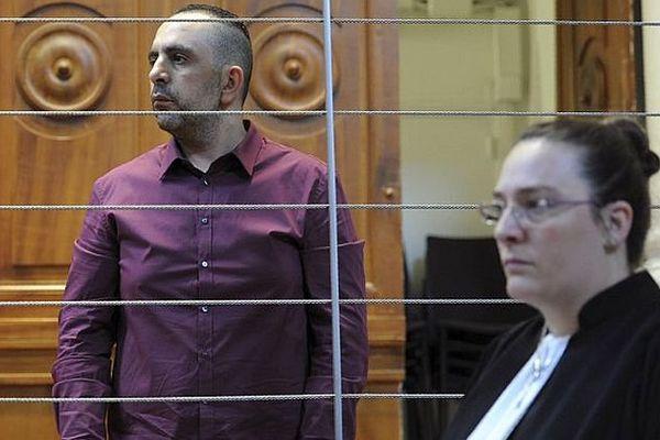 Nîmes - Kamel Bousselat accusé de séquestration et viol et son avocate Morgane Armand - 13 juin 2016.