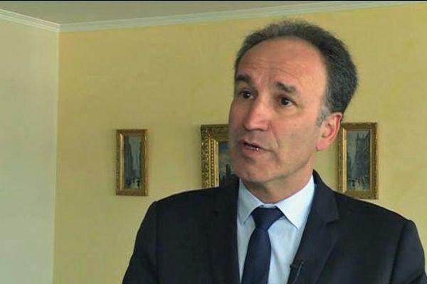 Frédéric Sanchez, président de la métropole Rouen Normandie