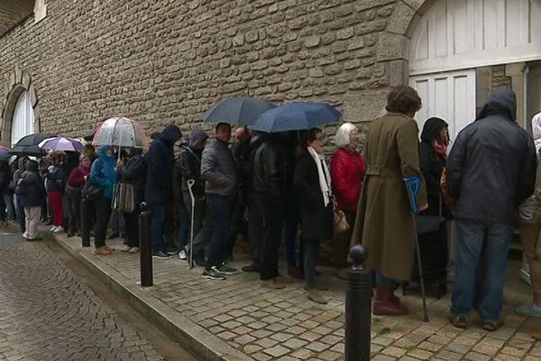 Beaucoup d'habitants se sont déplacés début mai pour le vide-Carmel organisé par les religieuses avantr leur départ du centre-ville.