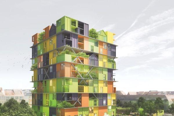 Un bâtiment atypique va voir le jour à Knokke-Heist.