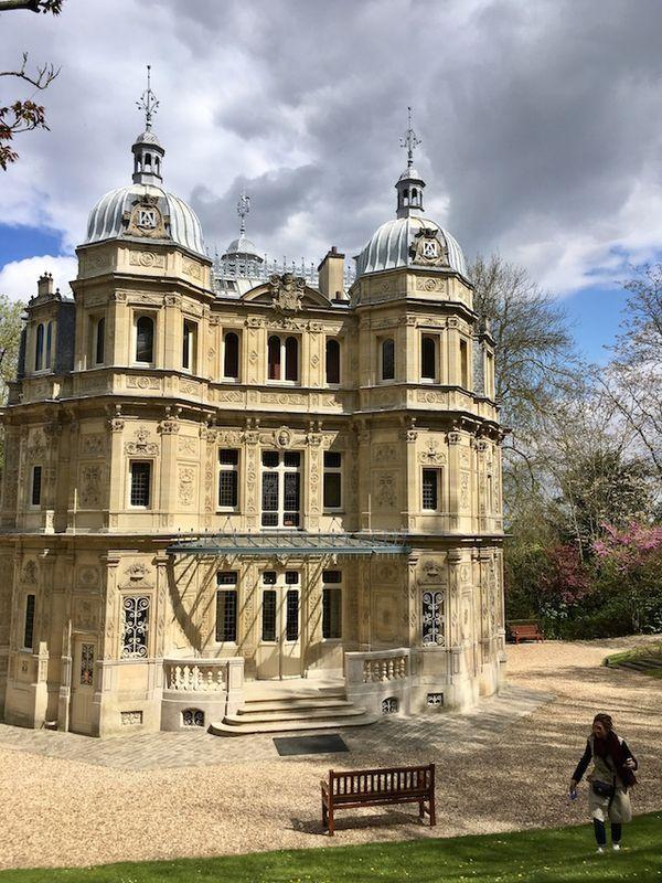 Le château de Monte-Cristo à Port Marly (78), la demeure construite par l'écrivain Alexandre Dumas au sommet de sa gloire
