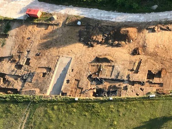Le site gallo romain mis au jour à Beynac par le chantier a rapidement disparu