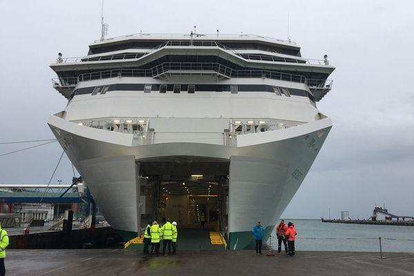 Le tout nouveau ferry pour l'Irlande voyagera à partir du mois de mars, ligne Cherbourg -Dublin
