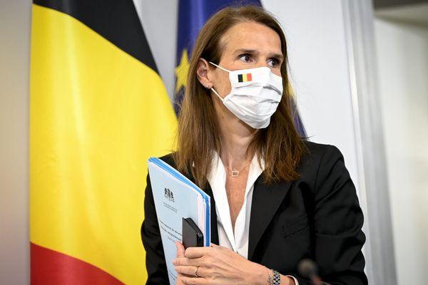 Sophie Wilmes, premier ministre belge ce jeudi