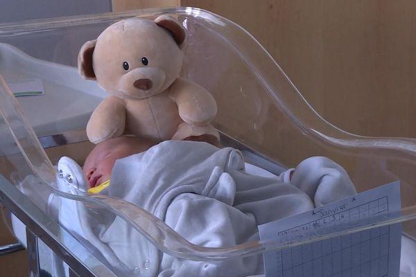 Le petit Axel est un des bébés caennais du confinement