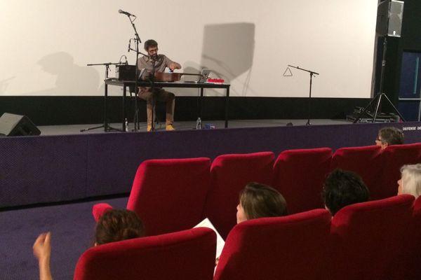 Les Internationales de la guitare ont débuté la musique expérimentale au cinéma Diagonal à Montpellier - 1er octobre 2016