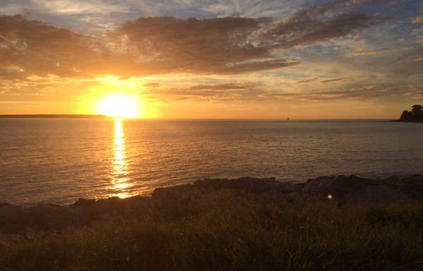 Coucher de soleil sur le canal du Mozambique