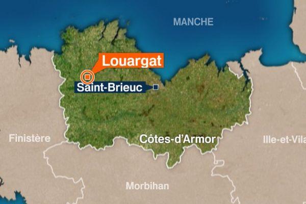 carte prisme Louargat