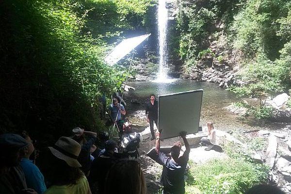 Le tournage du clip s'est déroulé dans le village de Carchetu et ses alentours.