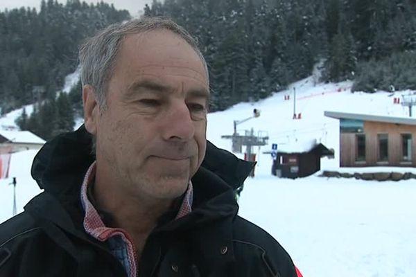 Philippe Voirin, directeur du domaine skiable de la Mauselaine