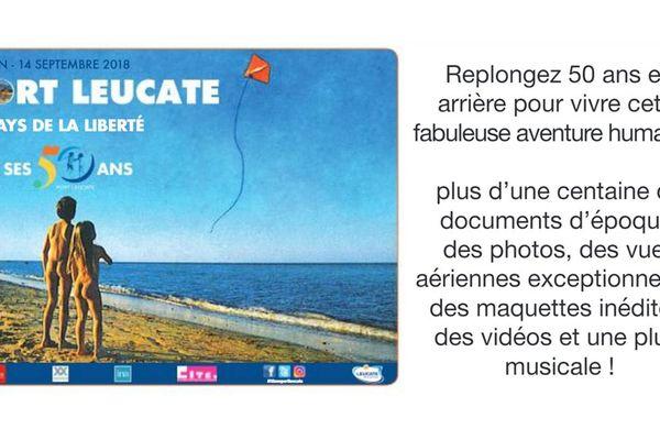 L'affiche de Port-Leucate qui date de plus de 50 ans, fait aujourd'hui polémique - juin 2018