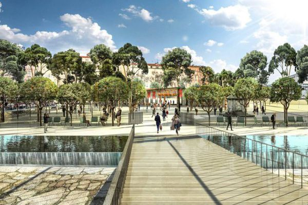 Projet de la place Campinchi à Ajaccio