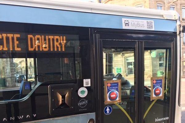 Des mesures sanitaires prises dans les bus de Limoges