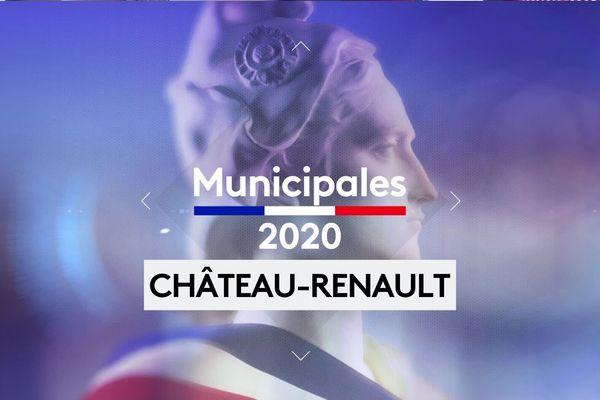Municipales 2020 second tour Château-Renault