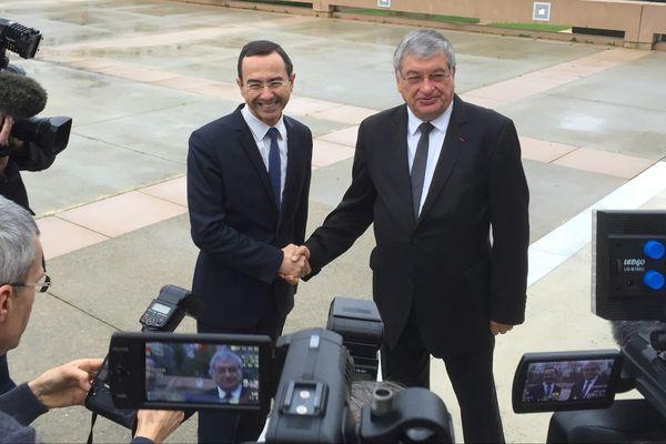 Bruno Retailleau succède à Jacques Auxiette à la tête de la région des Pays de la Loire