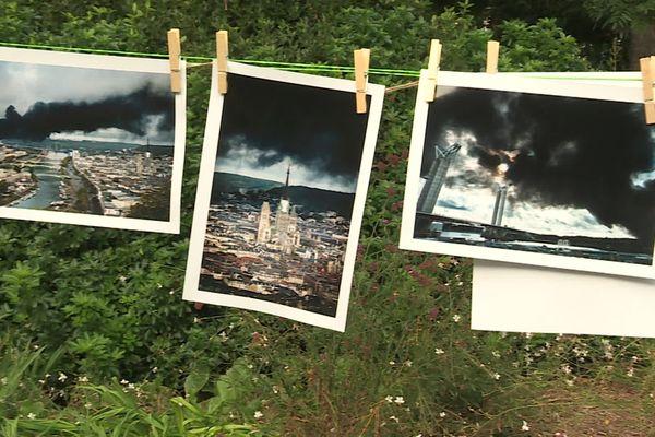 Les milliers de photos du panache sont étudiées suite à un appel de Atmo-Normandie