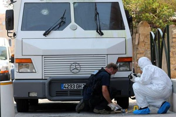 08/07/13 - Attaque d'un fourgon blindé à Propriano (Corse-du-Sud)