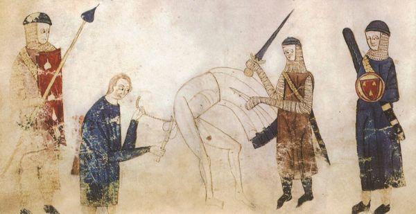 Castration pour bestialité, Toulouse, 1296.