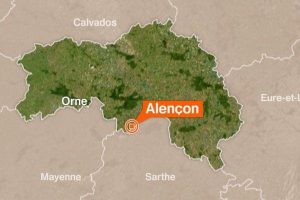 L'accident s'est produit sur l'autoroute A28, à hauteur d'Alençon