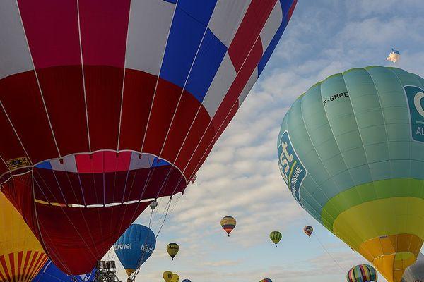 1 500 montgolfières, et des Normands, au Mondial Air Ballons