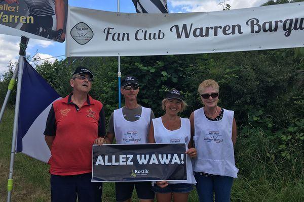 """Les fans de Warren Barguil l'acclament sur chaque étape, """"allez Wawa !"""""""