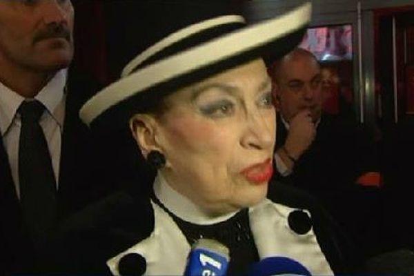 Geneviève de Fontenay présidait sa dernière soirée.