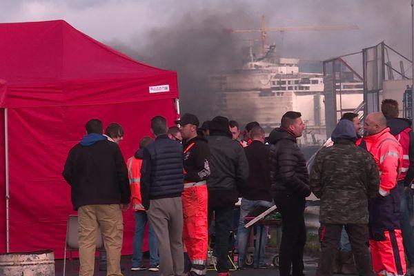 Le blocage des activités du Grand Port de Nantes Saint-Nazaire va reprendre cette semaine.