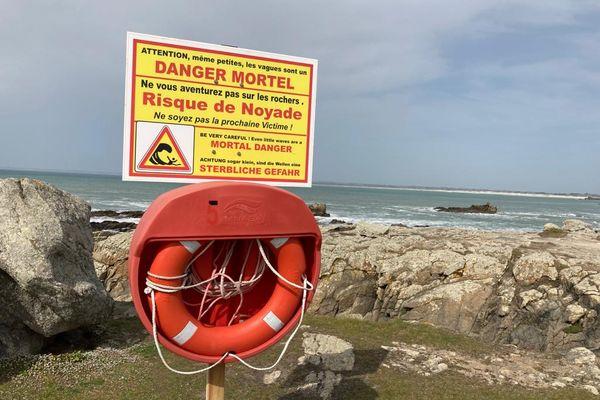Un pêcheur à pied est mort noyé ce mardi après-midi à Penmarc'h, dans le Finistère