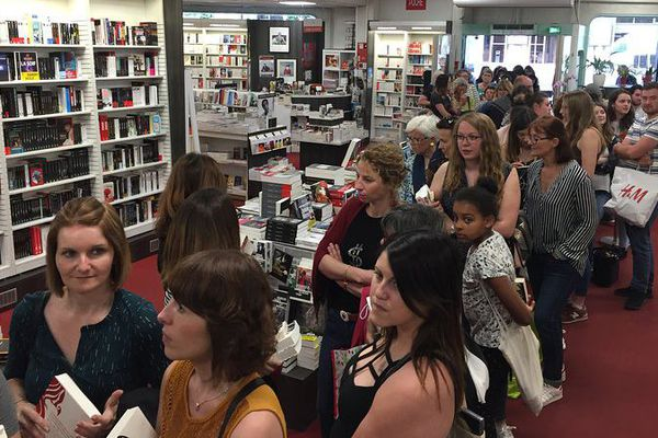 Plus de 300 personnes sont venues à la librairie des Volcans de Clermont-Ferrand