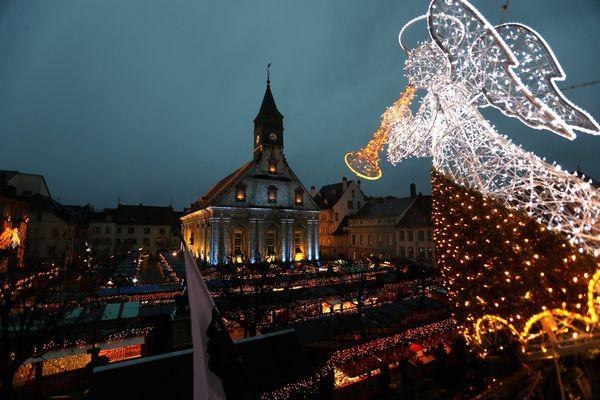 Le marché de Noël de Montbéliard attire chaque année plus de 500 000 personnes.