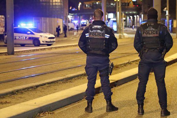 Attentat de Strasbourg : traque de Chérif Chekatt, le 13 décembre 2018 dans le quartier de la Meinau