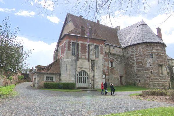 Avril 2021- Ce château du Neubourg est sélectionné pour le loto du patrimoine
