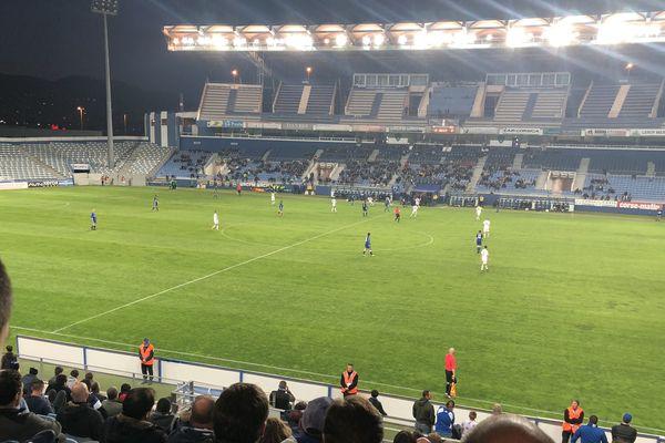 Les supporters ont assisté à une nouvelle victoire du Sporting hier soir
