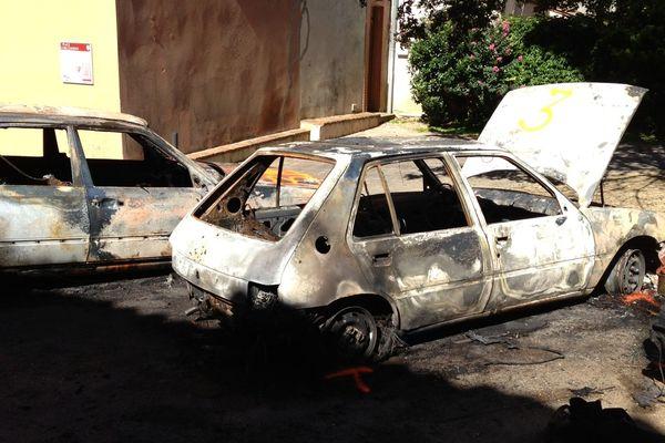 14 voitures ont été incendiées
