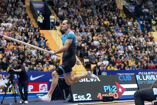 A 33 ans, le Clermontois Renaud Lavillenie est sacré pour la 8ème fois champion de France de saut à la perche en salle ce dimanche 1er mars.