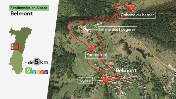 Une boucle de moins de 5 km, sans dénivelé : idéal pour une balade en famille.
