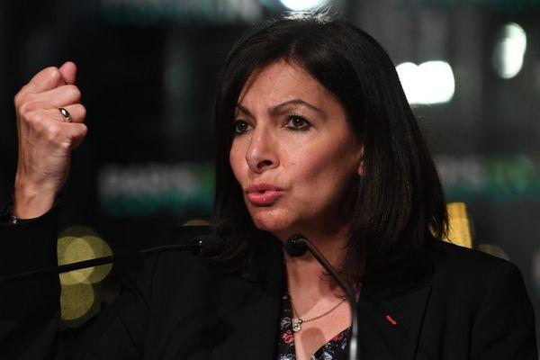Anne Hidalgo le 13 janvier, au lancement de sa campagne (illustration).