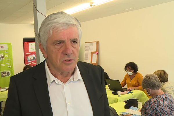 Bernard Uthurry, candidat socialiste à Oloron Sainte-Marie dans les Pyrénées-Atlantiques.